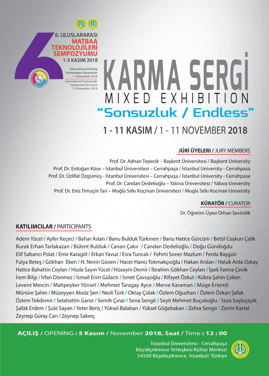 6. Uluslararası Matbaa Teknolojileri Sempozyumu / 1 - 3 Kasım 2018 - NEWS - Banu Bulduk Türkmen Portfolio